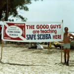 Class banner Dania Beach circa 1977