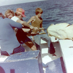 Gulf of Mexico 40 miles out (Copyright 1977 Steve Vanik)