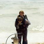 Steve's Open Water Class circa 1978
