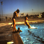 Steve's tudents practicing entires San Diego CA 1975