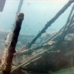 Wreck of Sapona in Bimini
