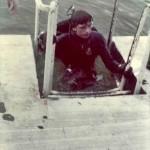 Steve exits a PA quarry circa 1974-edit